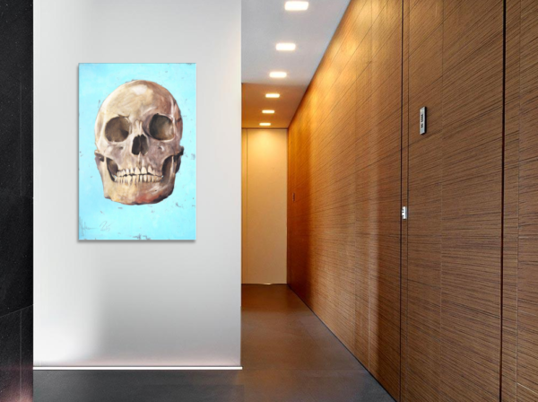 The Skull by Igor Shulman in the hall