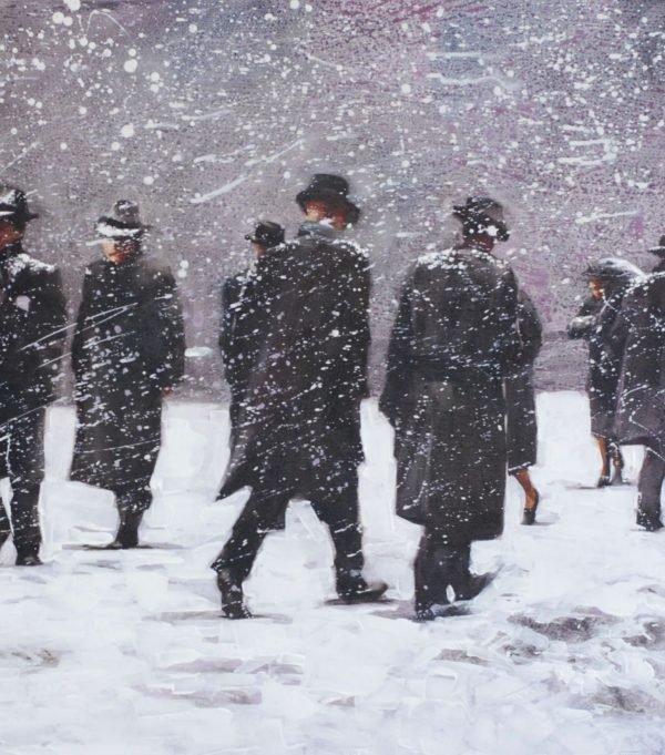 Winter NY artwork by Igor Shulman #artist