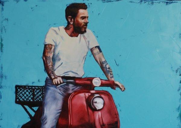 Madrid. Summer artwork by Igor Shulman #artist