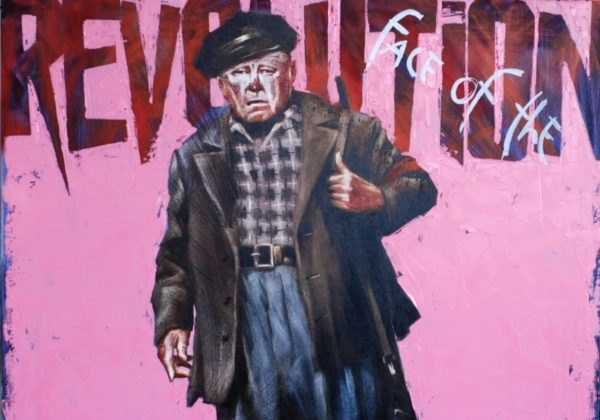 Face of the Revolution artwork by Igor Shulman #artist