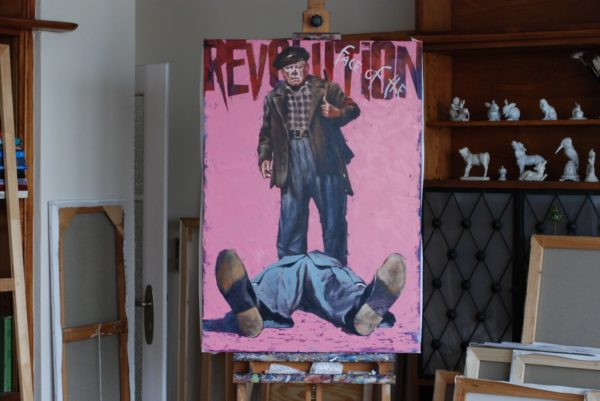 Face of the Revolution artwork by Igor Shulman #artgallery