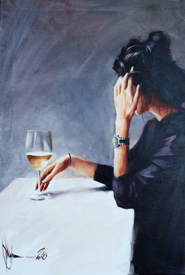 Alone Oil painting by Igor Shulman