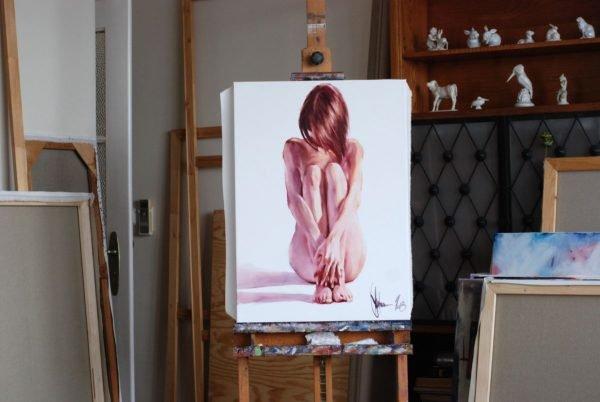 Modesty artwork by Igor Shulman #artist