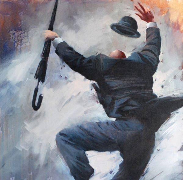 Winner. Commission !!! original painting by Igor Shulman