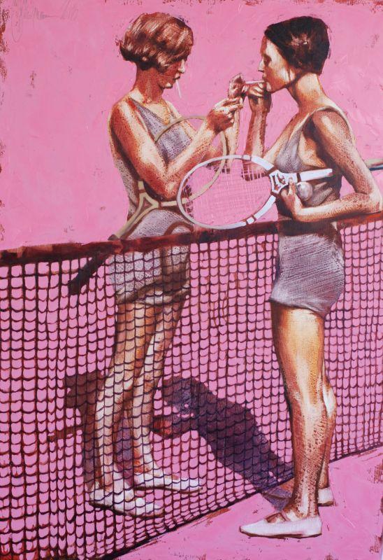 Retro Tennis by Igor Shulman