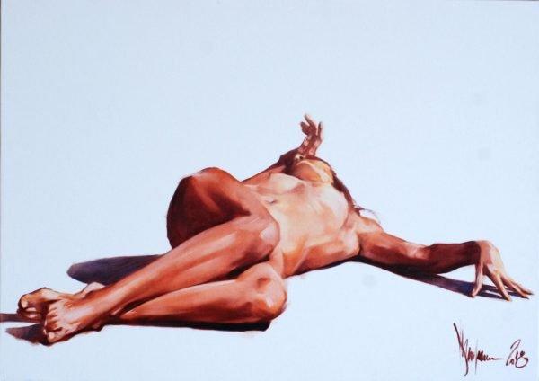#Nude 813 original painting by Igor Shulman