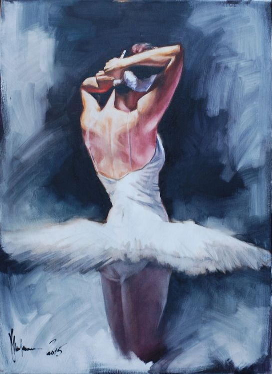 Ballerina #34 painting by Igor Shulman