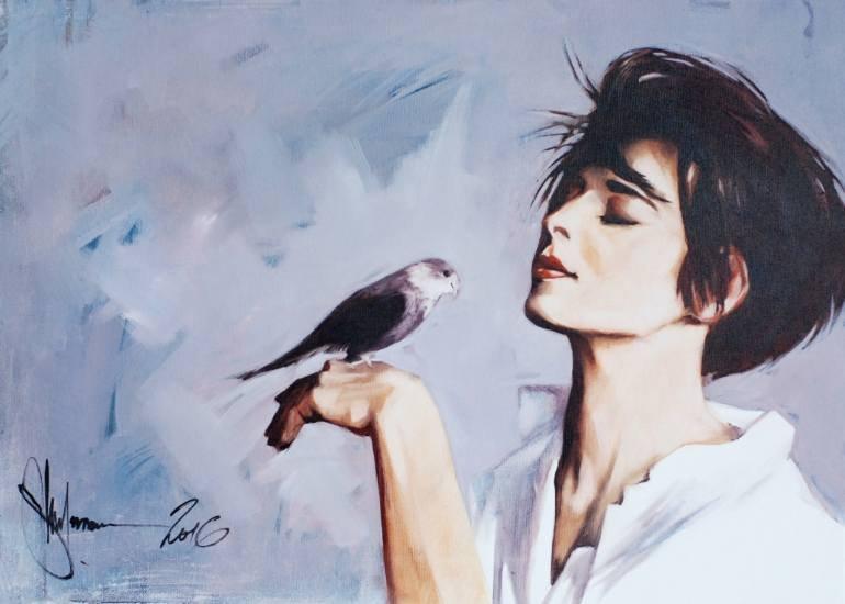Nice morning painting by Igor Shulman