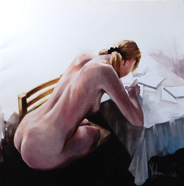 Nude 500 painting by Igor Shulman