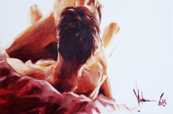 Gloomy morning artwork by Igor Shulman #nude