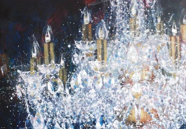 Artwork Large cristal chandelier. 4 try artwork by Igor Shulman #igorshulman