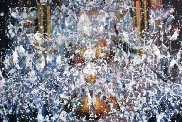 Artwork Large cristal chandelier. 4 try artwork by Igor Shulman #artist