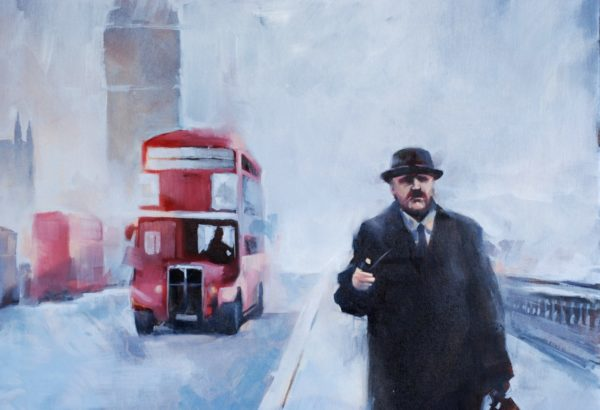 London story artwork by Igor Shulman #igorshulman