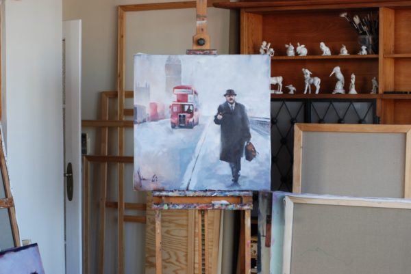 London story artwork by Igor Shulman #artgallery
