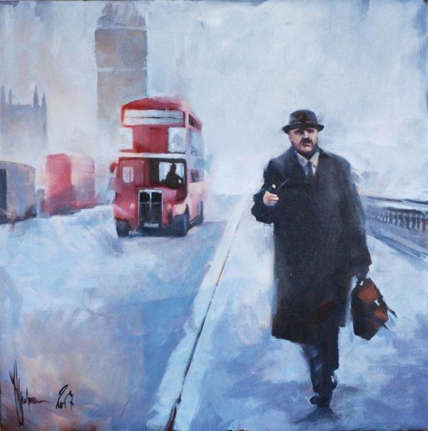London story original painting by Igor Shulman