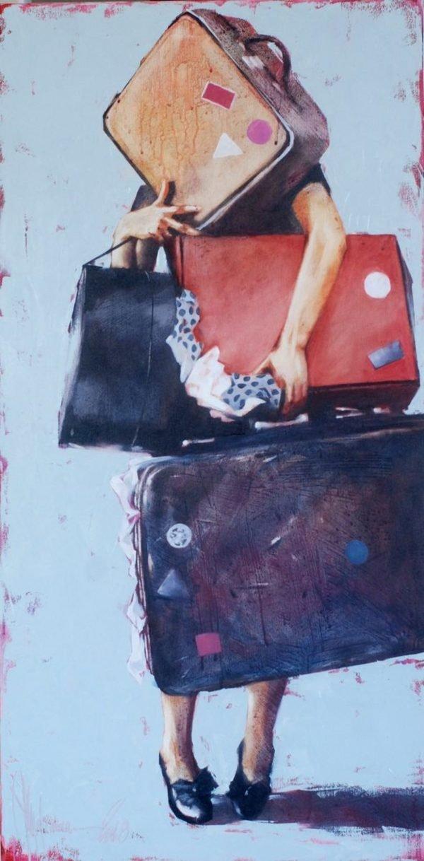 On vacation! original painting by Igor Shulman