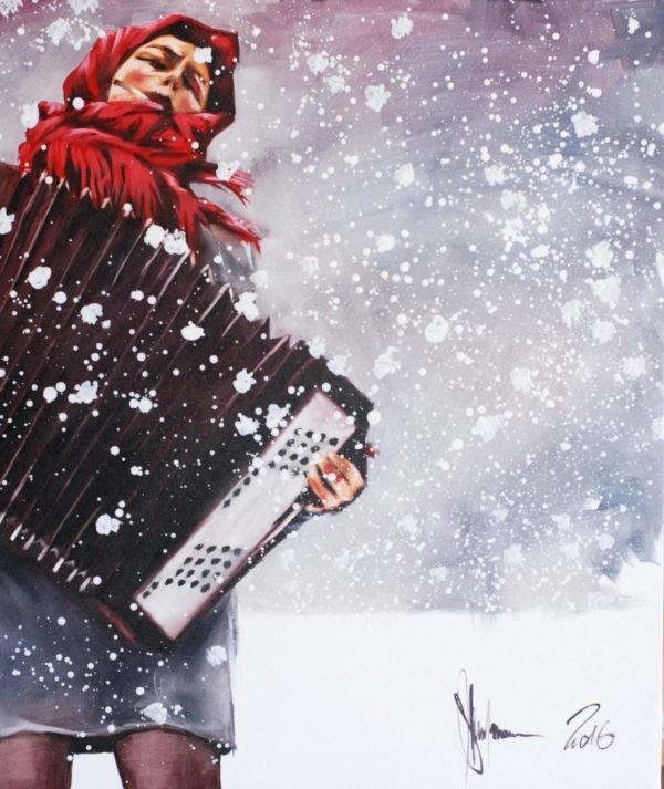 Winter artwork by Igor Shulman #art