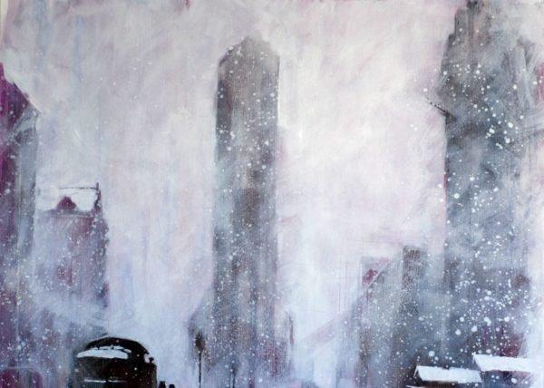 Winter. Retro artwork by Igor Shulman #shulmanart