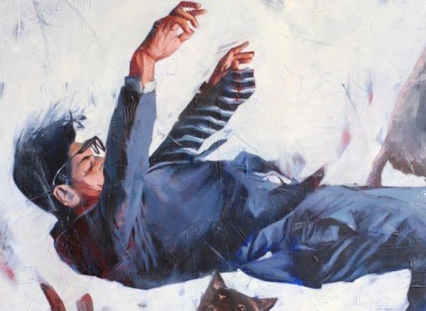 Gravitation #2 artwork by Igor Shulman #painting