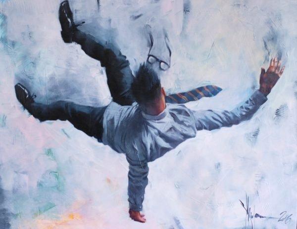 "Project ""Gravitation"", #1 original painting by Igor Shulman"