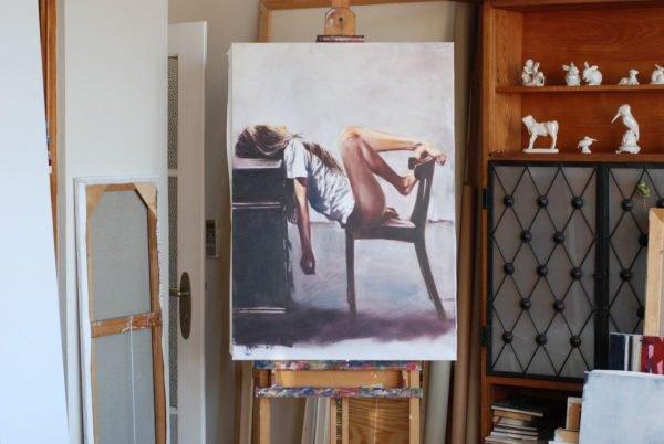 Lazy morning artwork by Igor Shulman #artist