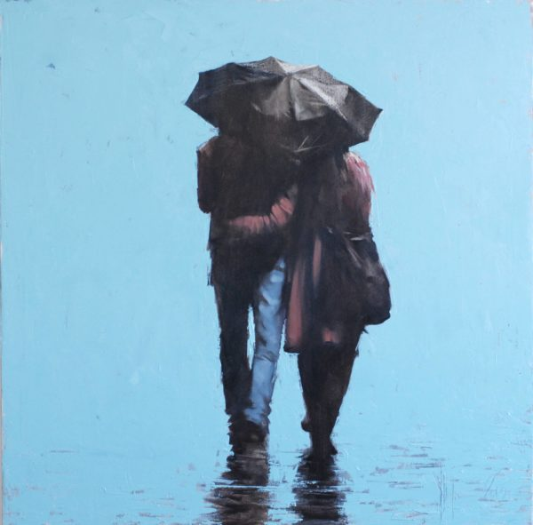 Rainy painting by Igor Shulman #artist