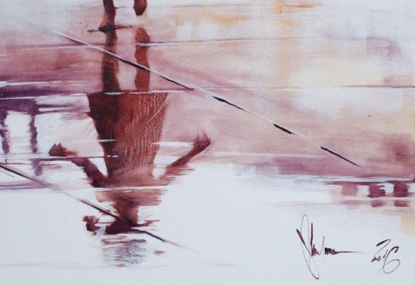 Reflection #3 artwork by Igor Shulman #artgallery