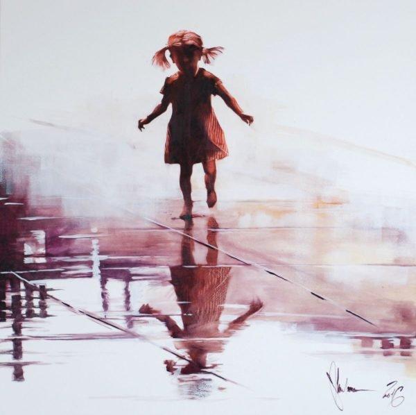 Reflection #3 original painting by Igor Shulman