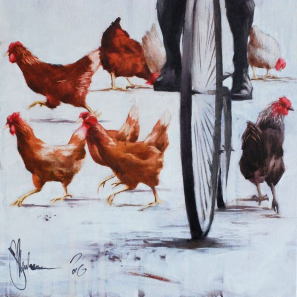 Retro pastoral artwork by Igor Shulman #artist