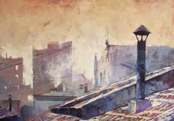 Roman morning artwork by Igor Shulman #artist