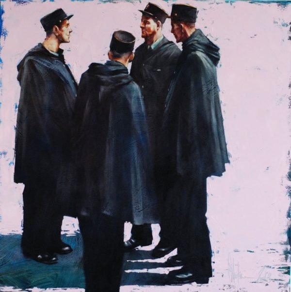 Weekdays original painting by Igor Shulman