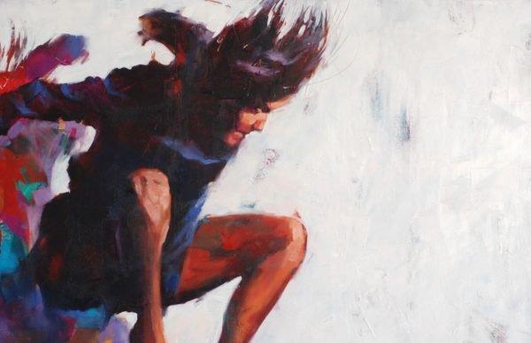 Leap to nowhere (WS-5) artwork by Igor Shulman #art