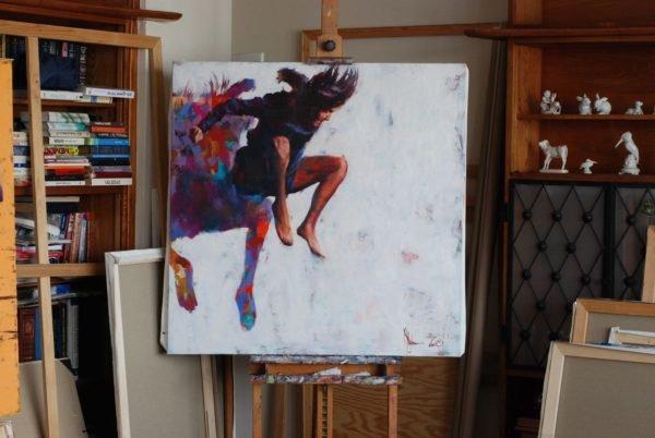 Leap to nowhere (WS-5) artwork by Igor Shulman #artgallery