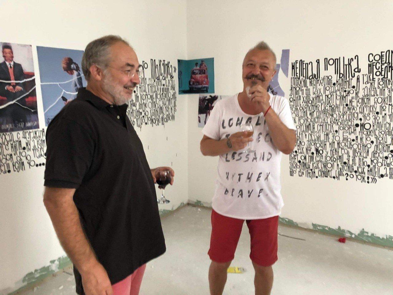 Igor Shulman and Marat Gelman
