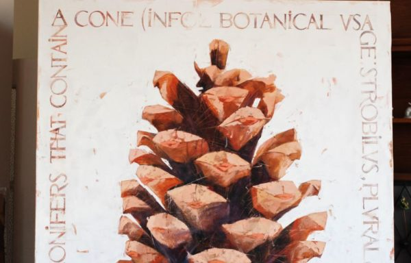 "Project ""Botanica"". Cone artwork by Igor Shulman #artgallery"
