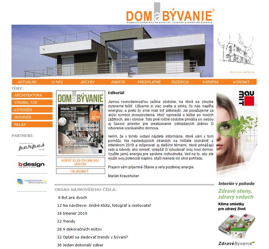 DomBývanie-magazine