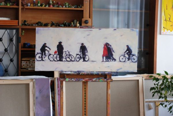 About People and Bikes artwork by Igor Shulman #artist