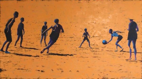 Beach Pastoral original painting by Igor Shulman