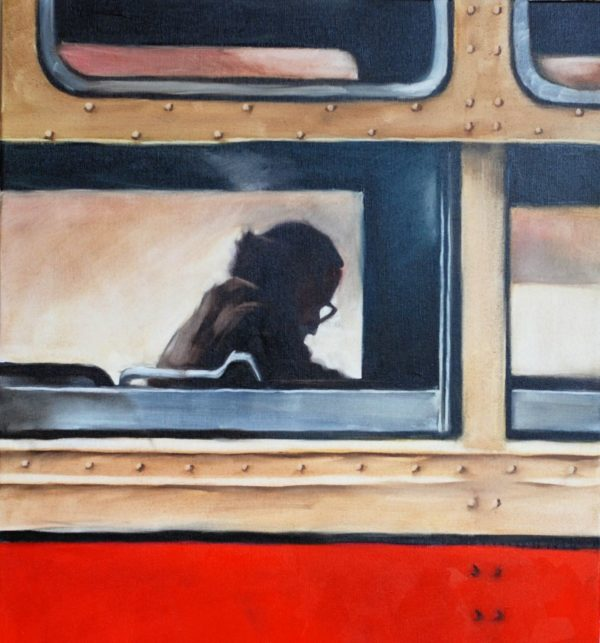 Bus from Childhood artwork by Igor Shulman #artist