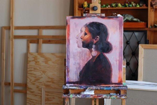 Maria. Fast portret artwork by Igor Shulman #artist