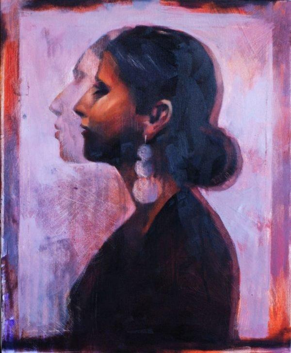 Maria. Fast portret original painting by Igor Shulman