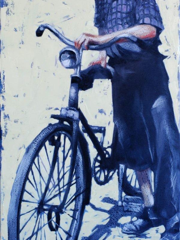 My First Bike artwork by Igor Shulman #artist