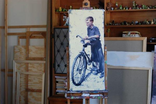 My First Bike artwork by Igor Shulman #artgallery