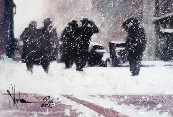 Winter. Boston artwork by Igor Shulman #artist