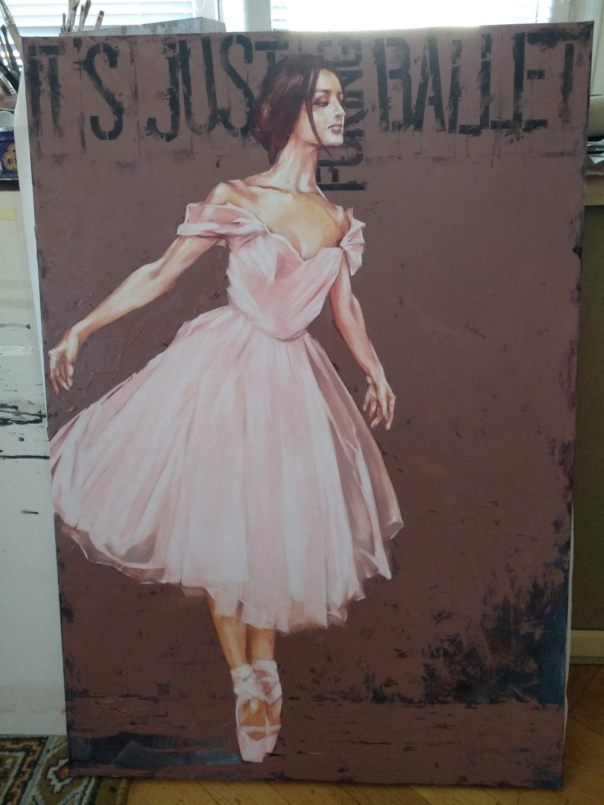 It is just Fucking Ballet at Igor's art studio