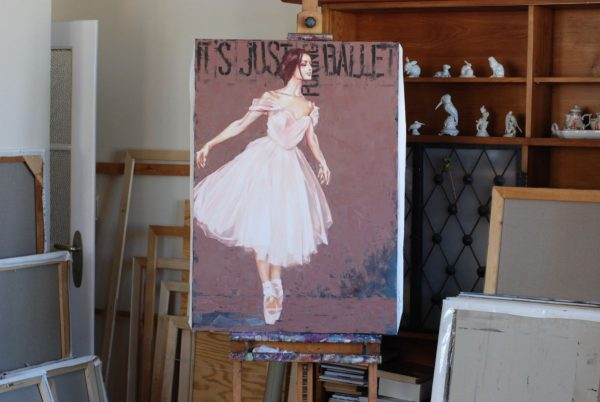 It is just Fucking Ballet painting by Igor Shulman #artgallery