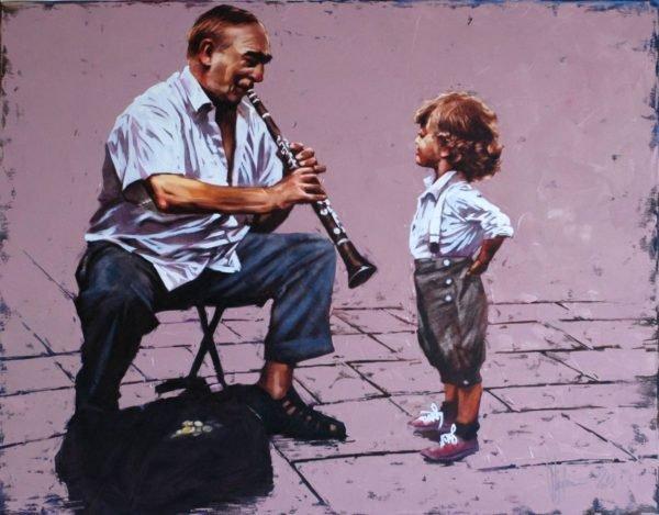 Sounds of Music original painting by Igor Shulman