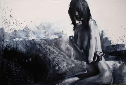 Igor Shulman Artwork / 2007 year Album / Akt N19 90x120 sm