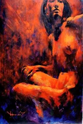 Igor Shulman Artwork / 2007 year Album / Akt N43 120x90 sm