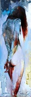 Igor Shulman Artwork / 2007 year Album / Akt №47 - 100x70 sm